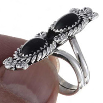 Pointer Finger Silver Ring 24686