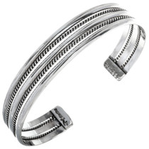 Native American Sterling Cuff 29644