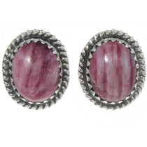 Spiny Oyster Stud Earrings 28438