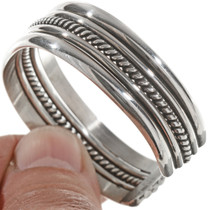 Navajo Twist Smooth Band Bracelet 12895