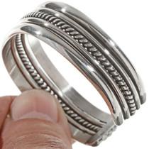 Navajo Twist Smooth Band Bracelet 12895