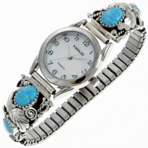 Handmade Indian Opal Watch  24459
