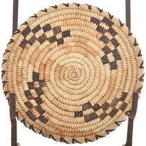 Tohono O'odham Indian Tray Basket 22561