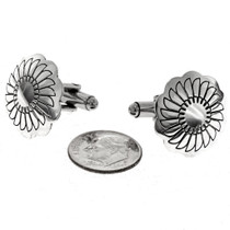 Navajo Silver Cuff Links 20895