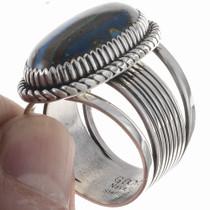Rainbow Calsilica  Ring 24756