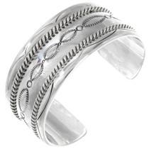 Hammered Silver Cuff 20685