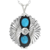 Sterling Ladies Southwest Pendant 26927