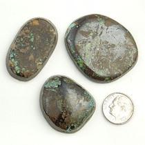 205 Carats PEEK A BOO Turquoise Cabochons Various Shapes Matrix