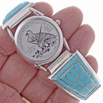 Zuni Turquoise Mens Watch 24515