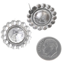 Sterling Native American Earrings 10658
