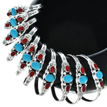 Navajo Three Stone Cuff 29583