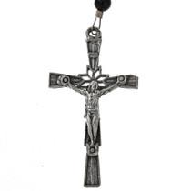 Southwest Silver Cross Necklace 21558