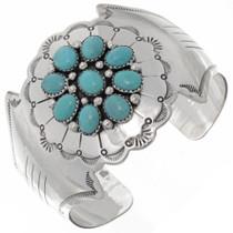 Turquoise Cluster Bracelet 25919