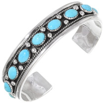 Turquoise Sterling Silver Bracelet 22483
