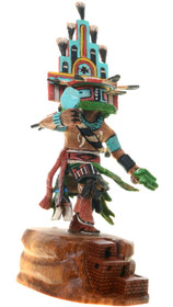 Hand Carved Hemis Kachina Doll 21201