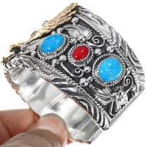 Big Boy Navajo Eagle Bracelet 24975