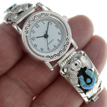 Lucky Horseshoe Opal Watch 24476
