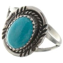 Kingman Turquoise Ladies Ring 26495