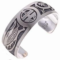 Hopi Sunface Bracelet 24551