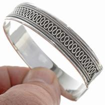 Fancy Wire Sterling Bracelet 27789