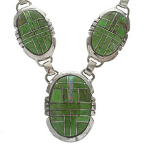 Native American Inlaid Necklace Set 27715