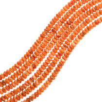 Orange Spiny Oyster Beads 25716