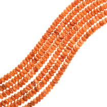 Orange Spiny Oyster Beads 25716