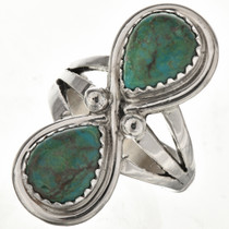 Turquoise Teardrops Ladies Ring 26334
