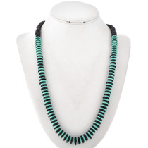 Native American Turquoise Bead Necklace 29576