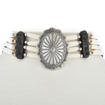 Tribal Bone Choker Necklace 17823