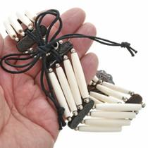 Hand Made Bone Choker Necklace 17823