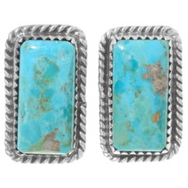Kingman Turquoise Stud Earrings 28570