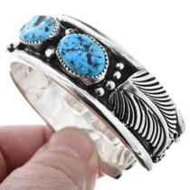 Turquoise Silver Bracelet 18683