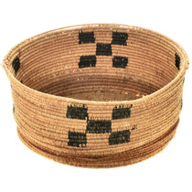 Old Navajo Hand Woven Basket 2897