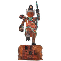 Hopi Warrior Mouse Kachina Doll 29589