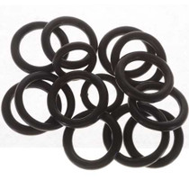 Wholesale Black Pottery Rings 25661