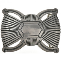 Old Pawn Style Navajo Belt Buckle 29284