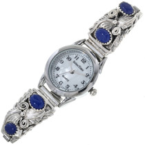 Native American Lapis Ladies Watch 23011