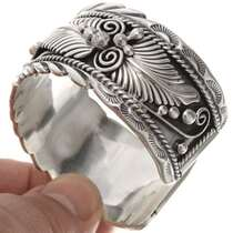 Navajo All Sterling Cuff Bracelet 22950