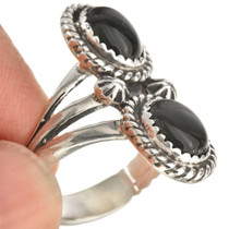 Sterling Onyx Southwest Ring 25928