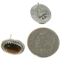 Southwest Gemstone Silver Post Earrings 28445