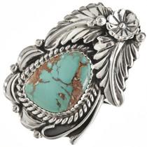 Navajo Natural Royston Turquoise Ring 27128