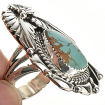Ladies Turquoise Pointer Ring 27128