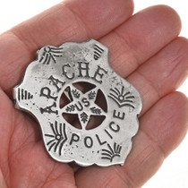 Old West Indian Police Badge 29010