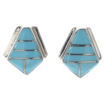 Sleeping Beauty Turquoise Earrings 24128