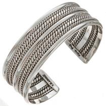 Silver Twist Wire Bracelet 24143