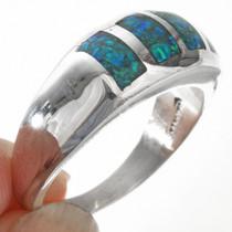 Navajo Mens Sleek Modern Ring 29527