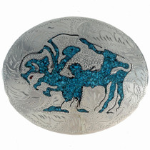 Buffalo Silver Belt Buckle 23170