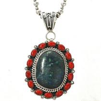 Azurite Coral Southwest Jewelry 29354