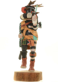 Vintage Hunter Kachina Doll 27600